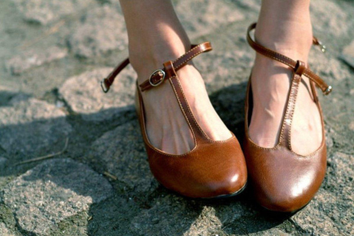Come indossare le scarpe di cuoio