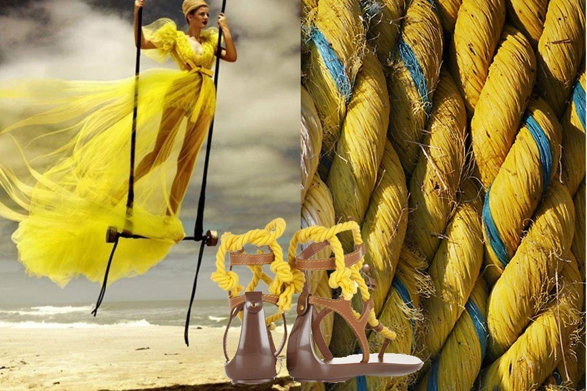scarpe di corda