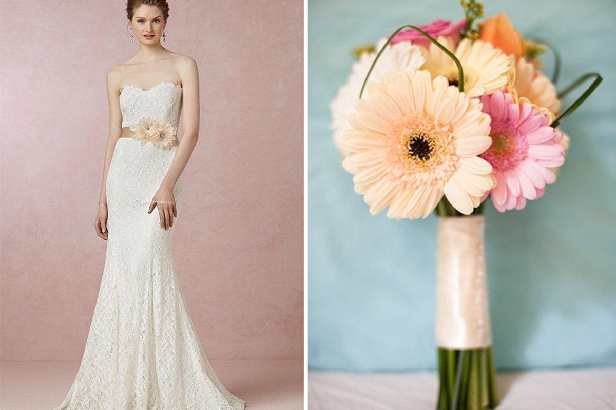 fd85c2e6299a Abiti da sposa Sposamore - un abito per ogni fiore