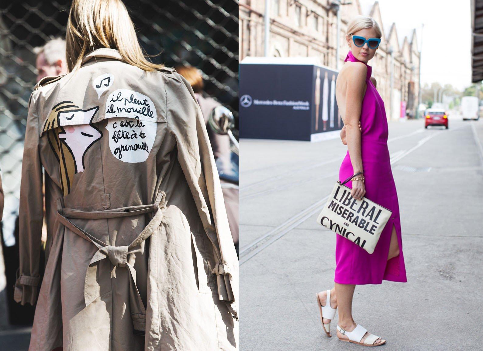 fashion writing