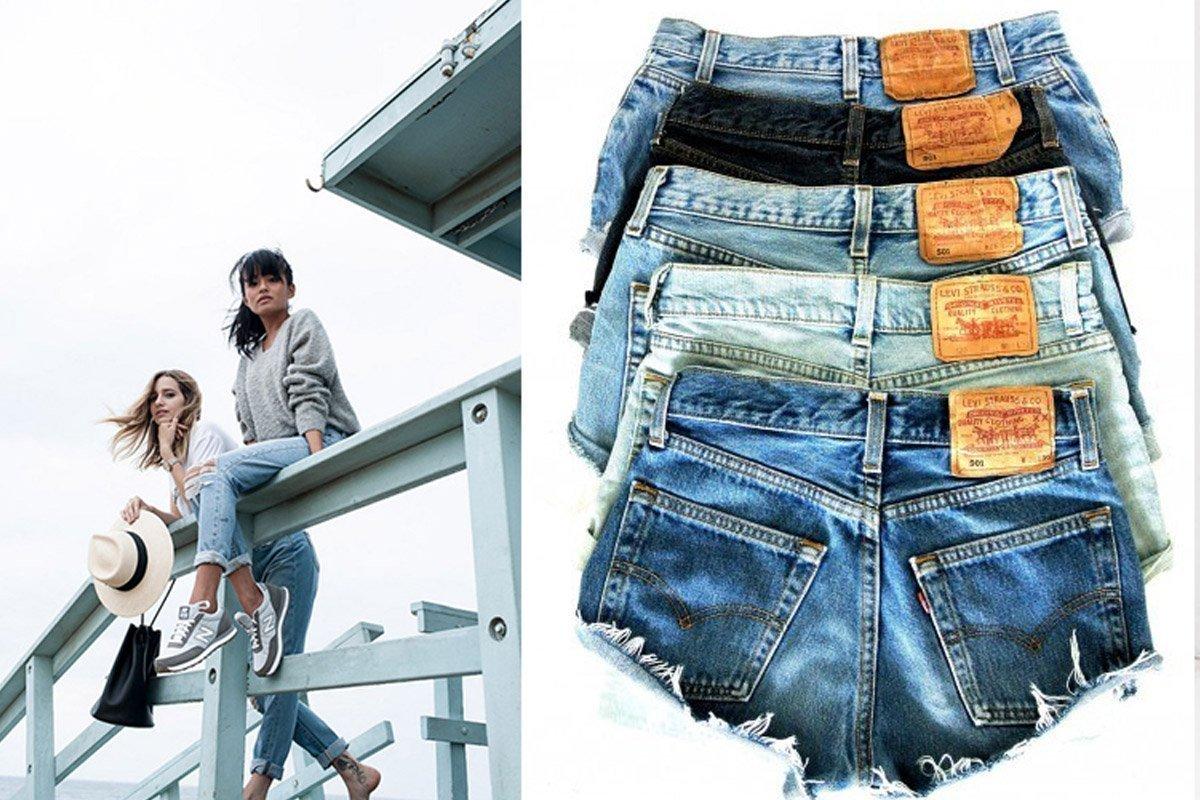 Modelli di jeans alla moda