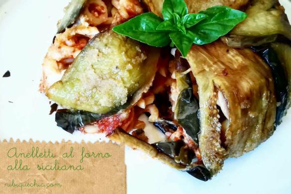 anelletti al forno alla siciliana