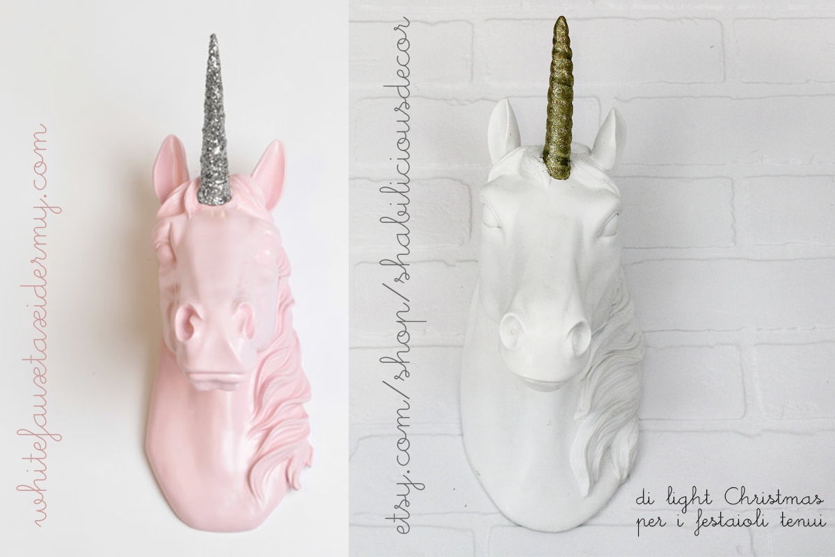 unicorni a natale