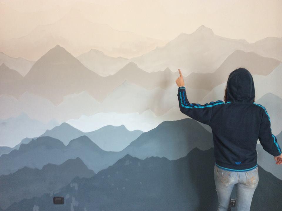 idee per decoarre la parete del letto