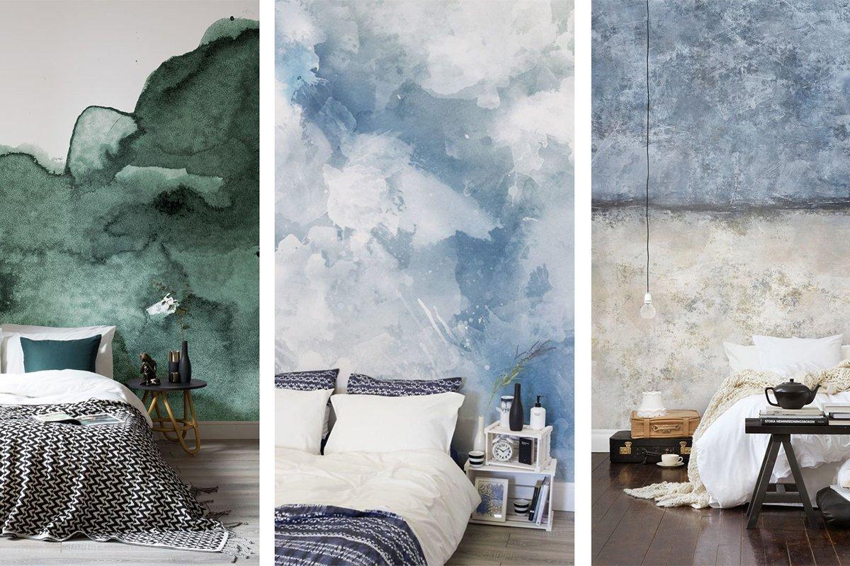 Idee per decorare la parete del letto e portare la creativit in camera - Decorare pareti camera ...