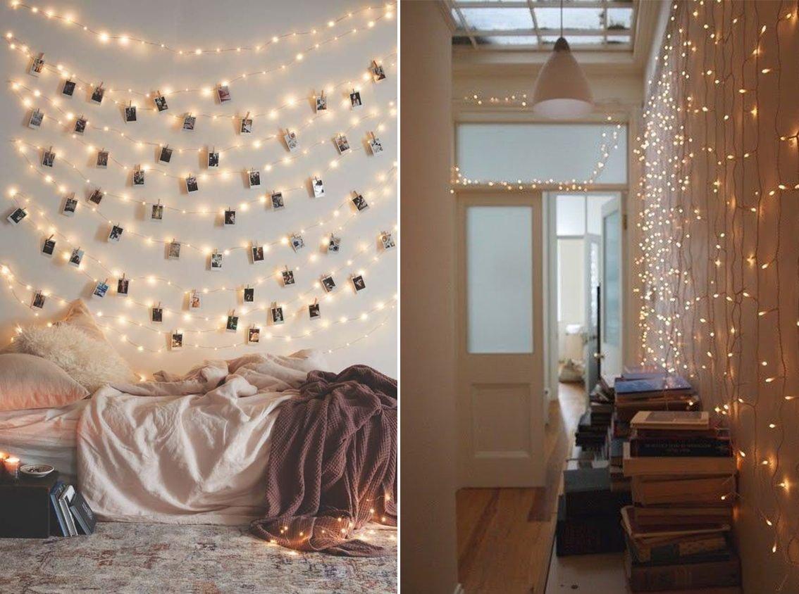 Addobbare casa con le lucine di Natale