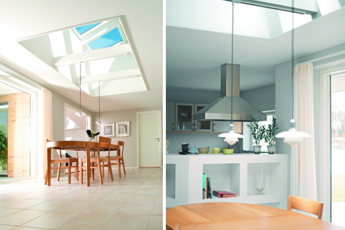 Una mansarda sul mondo illuminazione naturale e finestre for Finestre velux per tetti
