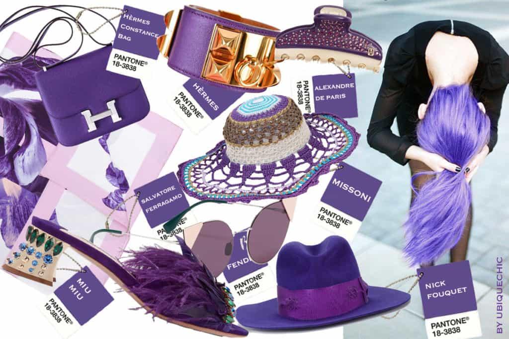 Accessori moda Ultra violet