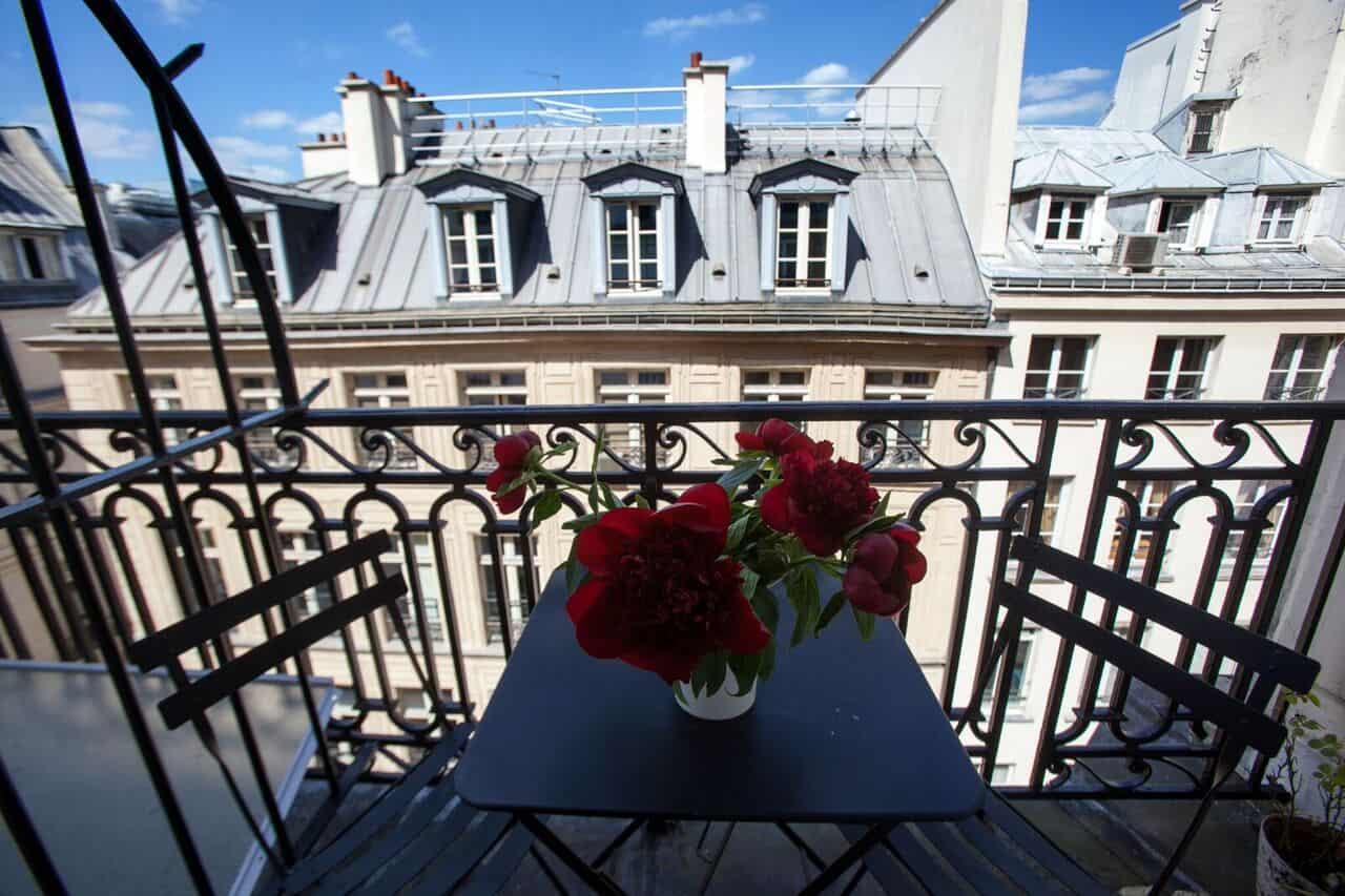 arredamento in stile parigino il terrazzino