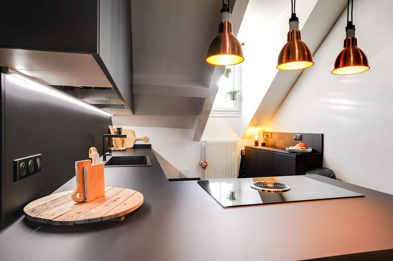 arredamento in stile parigino cucina