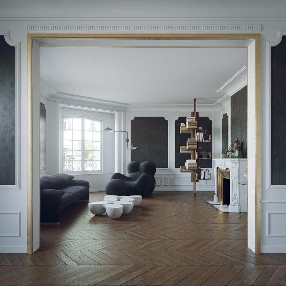 Arredamento in stile parigino e artiginato veneto for Arredamento stile