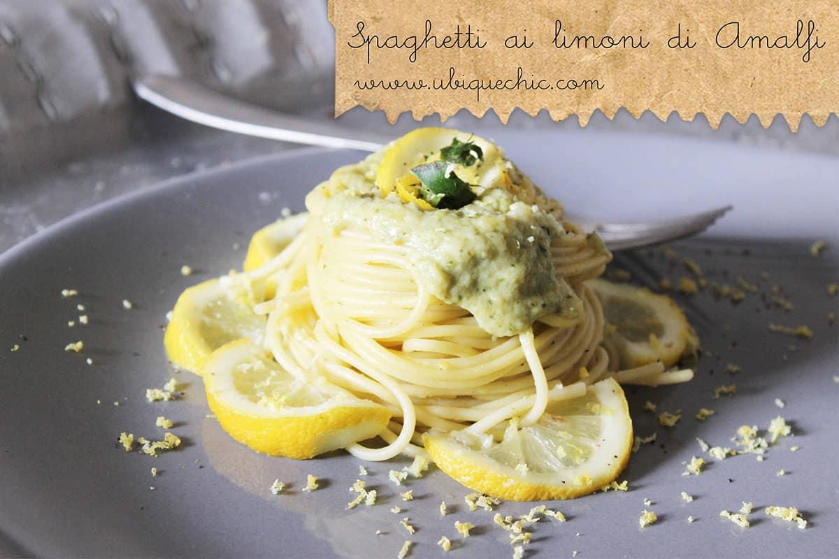spaghetti al limone