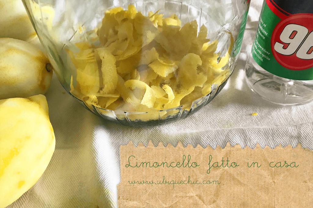 ricetta limoncello