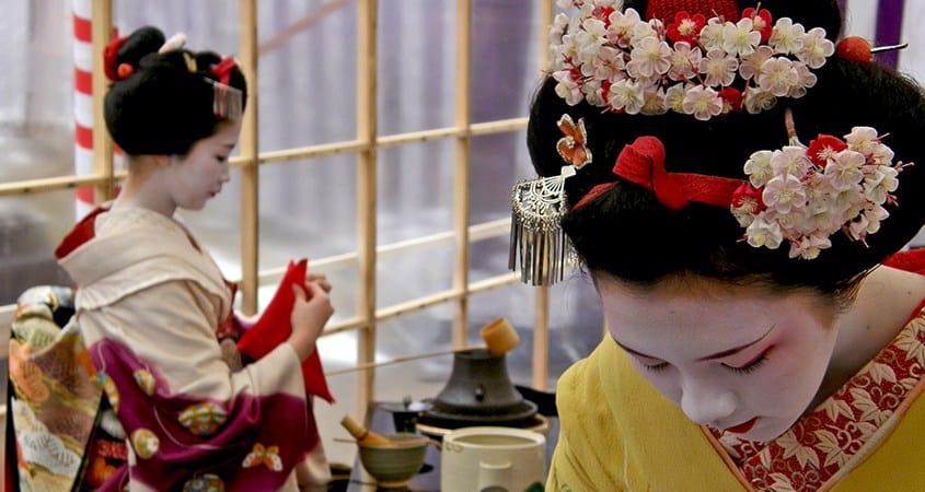 Geisha giapponese
