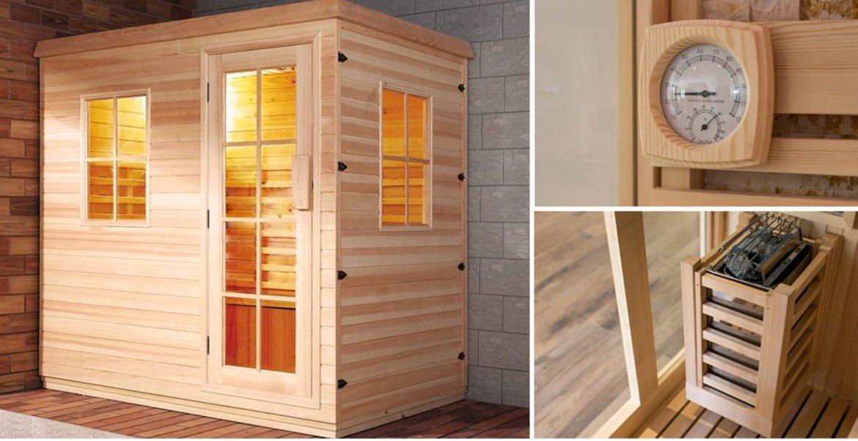 5 motivi per installare una sauna in casa una piccola spa tra le mura domestiche for Costruire una sauna in casa