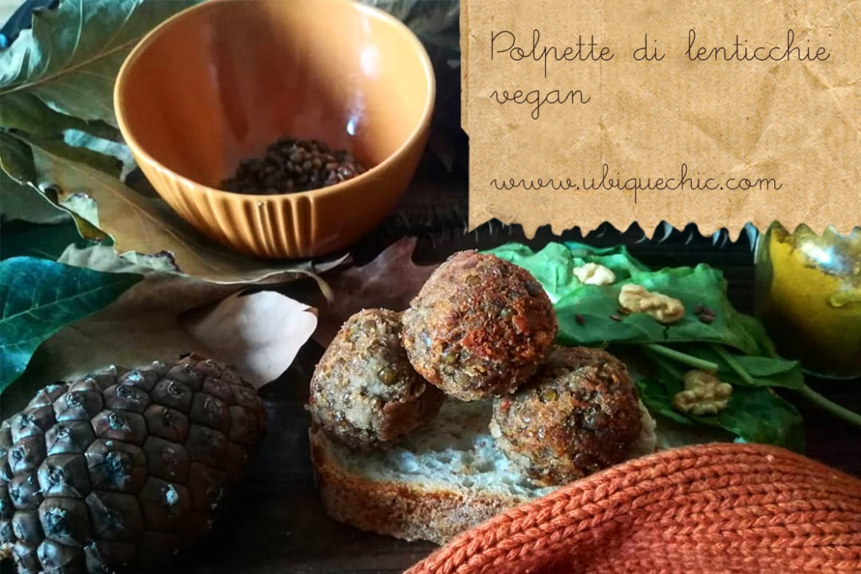 polpette di lenticchie vegan