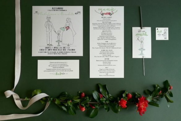 partecipazioni matrimonio originali