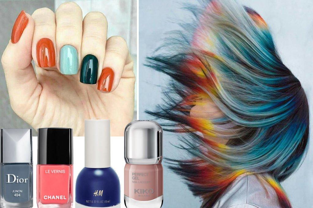 unghie colorate