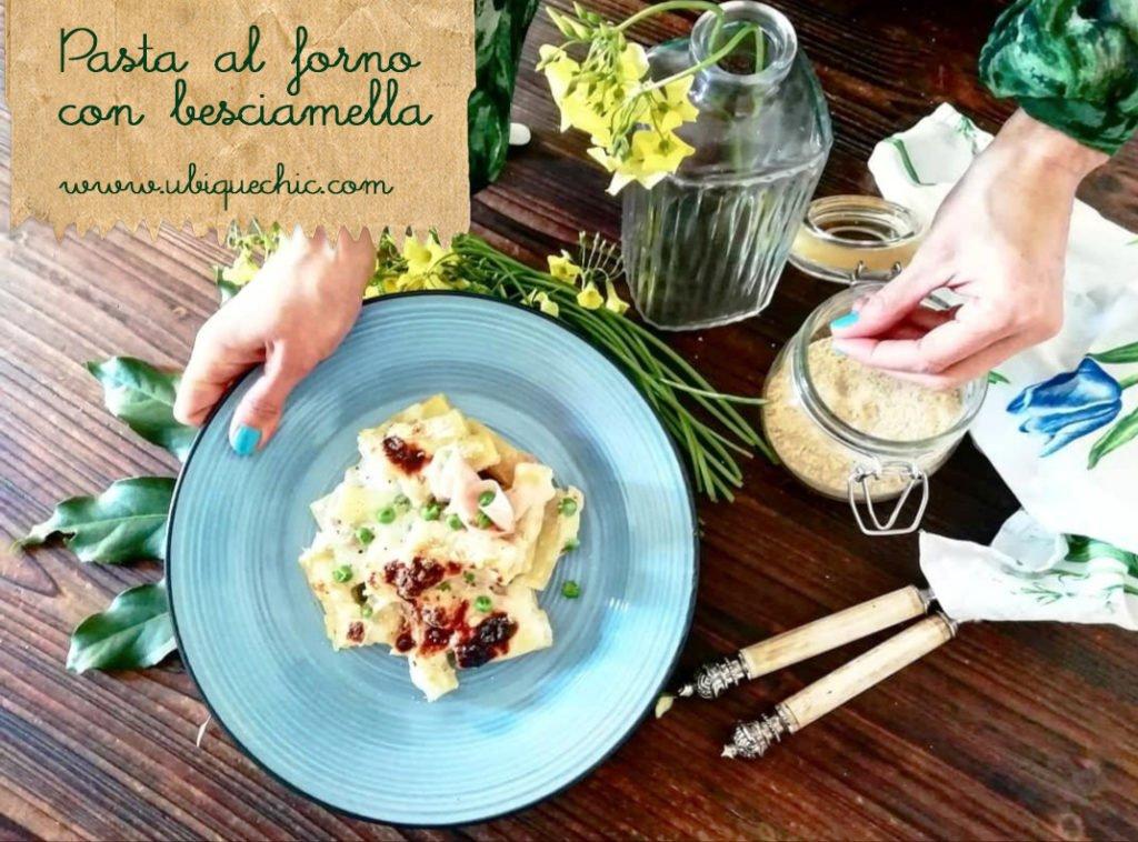 pasta al forno bianca con besciamella