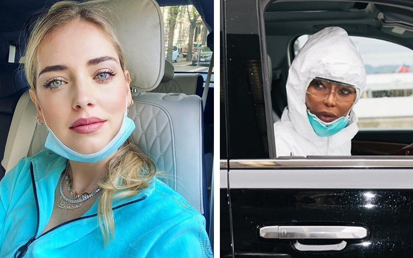 mascherina colorata o chirurgica