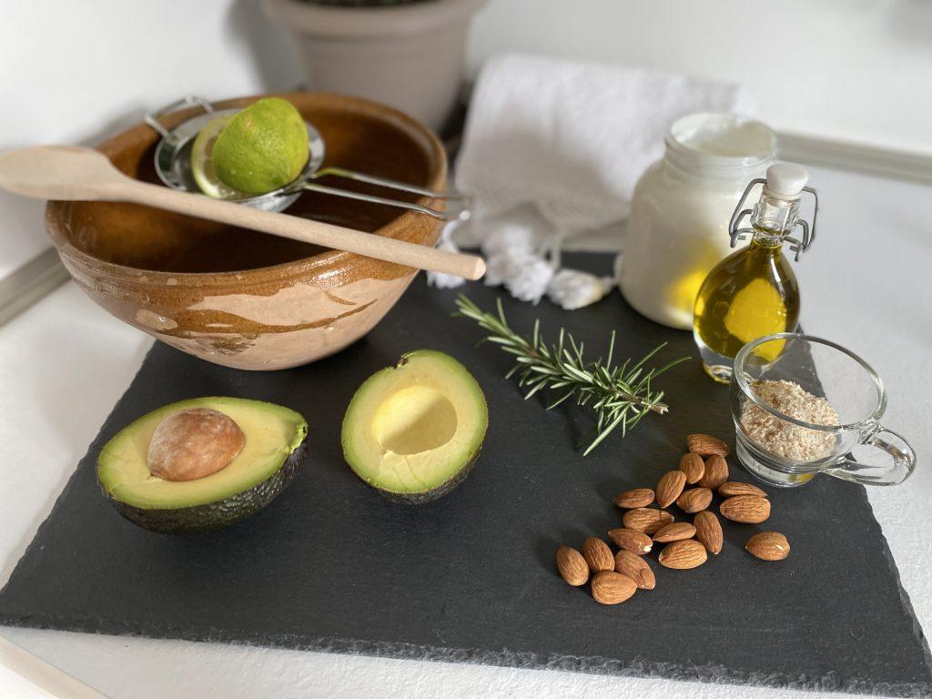 ingredienti per Maschera capelli