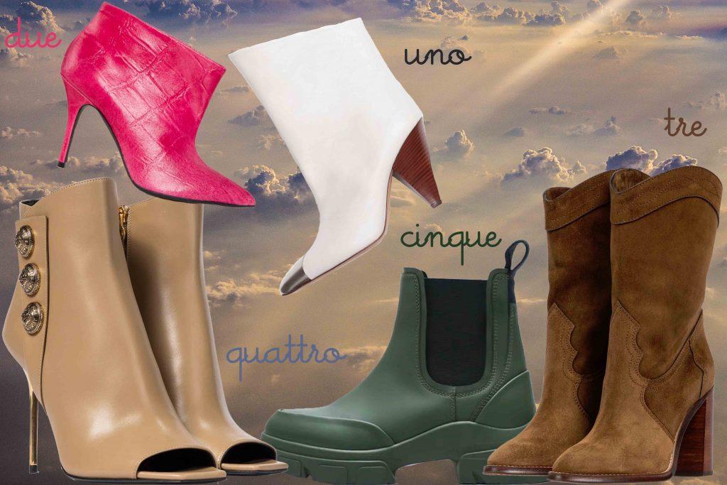 scarpe primavera estate 2021 boots