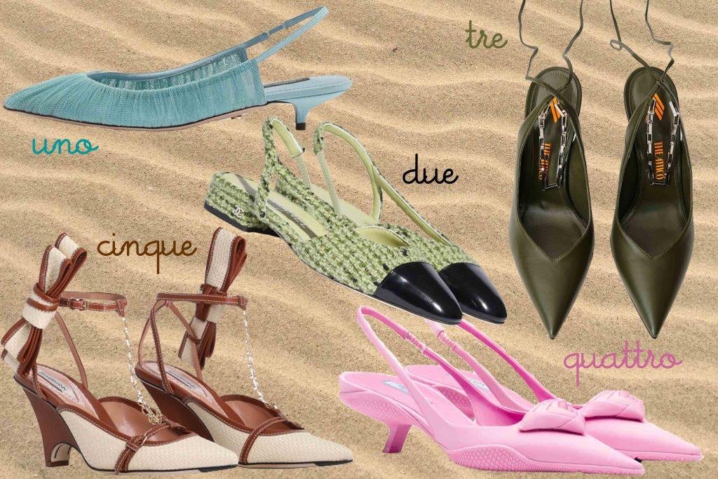 scarpe primavera estate 2021 punte
