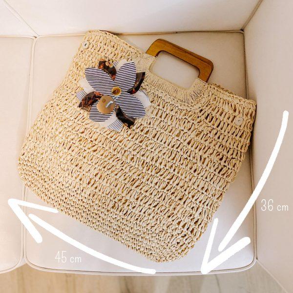 shopping bag rafia miele 01